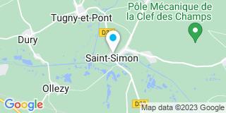 Plan Carte Christophe Lemoine à Saint-Simon