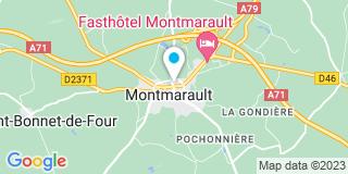 Plan Carte Henry Marie-Françoise à Montmarault