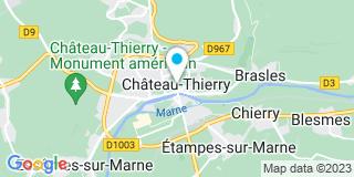 Plan Carte Alain Pélé à Château-Thierry