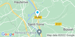 Plan Carte Laffay Lionel à Saint-Yorre