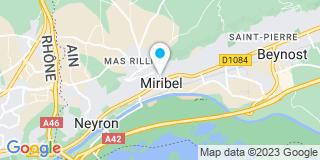 Plan Carte Romain Dumas à Miribel