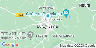 Plan Carte Rabouhams Philippe à Lurcy-Levis