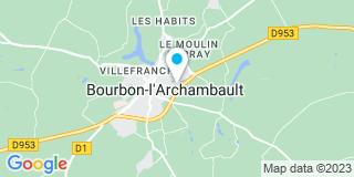 Plan Carte Salin Arnaud à Bourbon-l'Archambault