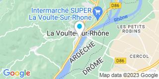 Plan Carte Le notaire Jean-Marie Fraisse à La Voulte sur Rhone