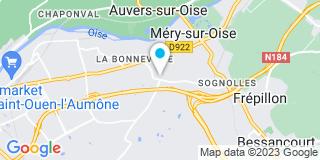 Plan Carte Menuiserie Générale Plâtrerie (MGP) à Mery-sur-Oise