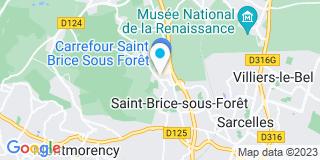 Plan Carte Chardon et Fils à Saint-Brice-sous-Forêt
