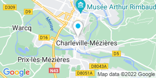 Plan Carte Le notaire François Mathie-Mathieu à Charleville Mezières