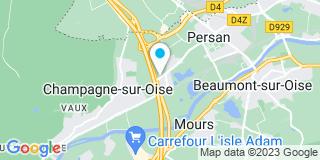 Plan Carte L'Atelier de la Fermeture à Champagne-sur-Oise