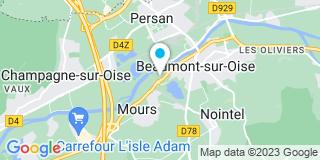 Plan Carte Moulon et Fils à Beaumont-sur-Oise