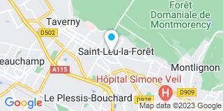 Plan Carte SFP à Saint-Leu-La-Forêt