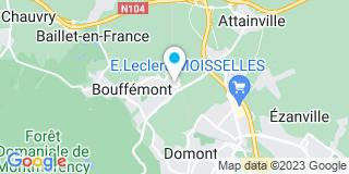 Plan Carte Maygnan Fermetures à Bouffémont