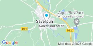 Plan Carte Notaire Elisabeth Mas-Delrieu à Saverdun
