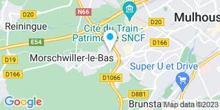 Plan Carte 4murs de Mulhouse - Morschwiller-le-Bas