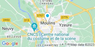Plan Carte Desplats Bruno à Moulins