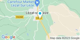 Plan Carte Le Notaire Jean-Michel Miraille à Lezat sur Leze