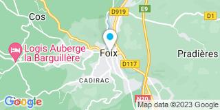 Plan Carte Notaire Jean-Pierre Sanz à Foix