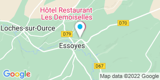 Plan Carte Notaire Jean-Michel de Vreese à Essoyes