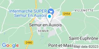 Plan Carte Mourot Luc à Semur-en-Auxois