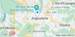 Plan Carte Ducamp Patrice à Angoulême
