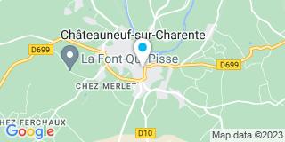 Plan Carte Machat Maryline à Châteauneuf-sur-Charente