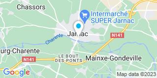 Plan Carte Marcadie Daniel et Roy-Rosembly à Jarnac