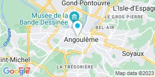 Plan Carte Metais Laurent à Angoulême Cedex