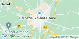 Plan Carte Claude Demaret, Yvan Cartigny et Stéphane Clergeau à Barbezieux-Saint-Hilaire