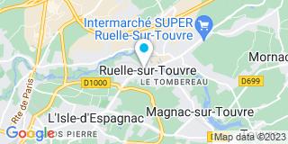 Plan Carte Sel Philippe Cassereau, Jérôme Foureix, Selarl à Ruelle-sur-Touvre