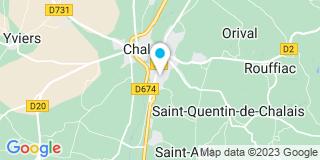 Plan Carte Tetoin Gaël à Chalais