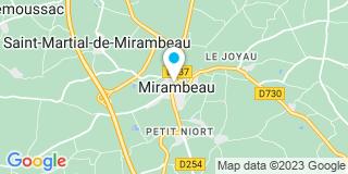 Plan Carte Baudry Isabelle à Mirambeau