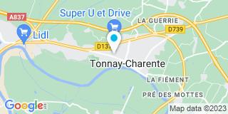 Plan Carte Bonnet-Coirier Sylvia à Tonnay-Charente