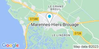 Plan Carte Moreno Patrick à Marennes