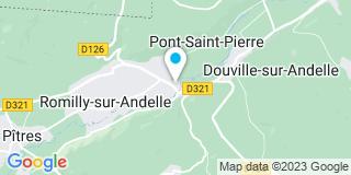 Plan Carte QUIGNARD Nicolas à Pont-Saint-Pierre