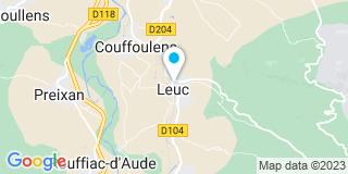 Plan Carte Notaire Patrice Noury à Leuc