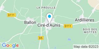 Plan Carte Parenteau Nicolas à Cire-d'Aunis