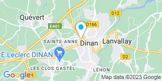 Plan Carte Valérie Allot-Ranc à Dinan