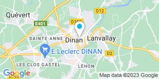 Plan Carte Bertrand Augrain à Dinan