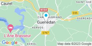 Plan Carte Michel Barbier à Mur-de-Bretagne
