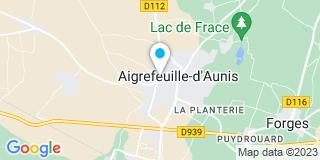 Plan Carte Bernard Guillerme et Isabelle Pitorrin-Larregle à Aigrefeuille-d'Aunis