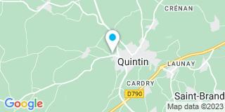 Plan Carte Cortyl Bruno à Quintin