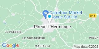 Plan Carte Danree-le Maitre Nathalie à Ploeuc-sur-Lié