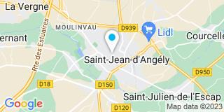 Plan Carte Jacques Le Bouvier, Jean-Christophe Callandre et Alexandra Marengo à Saint-Jean-d'Angély