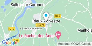 Plan Carte Combret Alain à Rieux Volvestre
