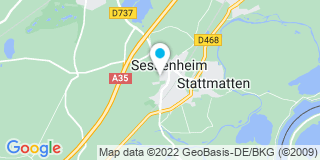 Plan Carte Ostertag à Sessenheim