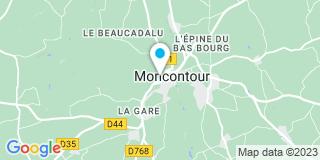 Plan Carte Le Levier Yann à Moncontour