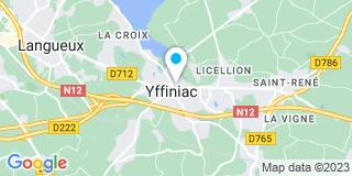 Plan Carte Le Person Patrick à Yffiniac