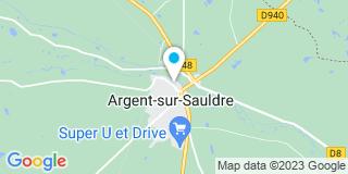 Plan Carte Bonnard Jérôme à Argent-sur-Sauldre
