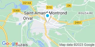 Plan Carte Castagnou-Sirot Claude à Saint-Amant-Montrond