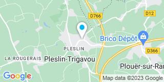 Plan Carte Louail Sylvain à Pleslin-Trigavou