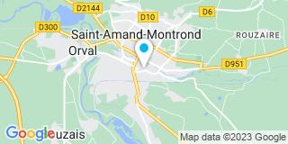 Plan Carte Lesage Justine à Saint-Amand-Montrond